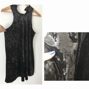 Dresses & Skirts - Black Velvet Dress - Wild Daisy brand